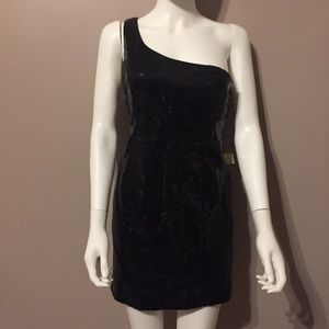 BNWT Forever 21 One Shoulder Sequin Dress Size S